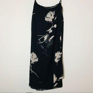 🍁Emanuel Ungaro Women's Skirt Black & Cream skirt